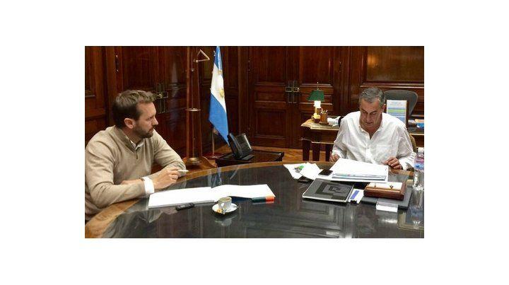 encuentro. Rosúa y Vaquié analizaron medidas tendientes a facilitar el acceso a la primera vivienda.