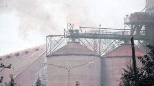 Alarma. Pese a que los daños materiales en la planta sanlorencina fueron mínimos