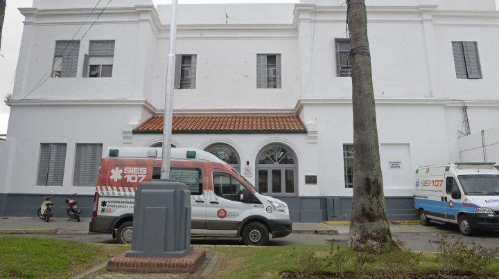La víctima fue atendida en el Hospital Roque Sáenz Peña