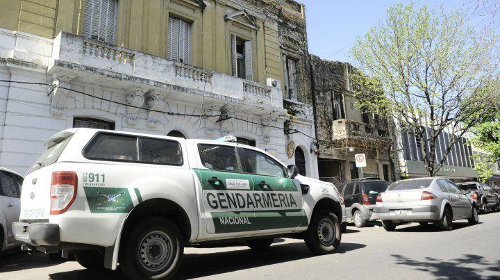 Un móvil de Gendarmería