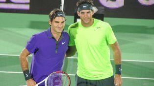 Federer homeajeó a Del Potro y lo comparó con Thor, el superhéroe de historietas