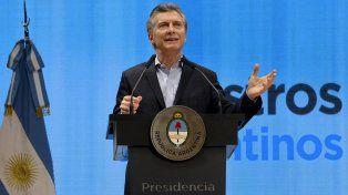 Macri brindó esta mañana declaraciones sobre el caso Maldonado.