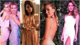 Looks osados, transparencias, escotes y juegos sensuales entre las famosas en la gala de Gente