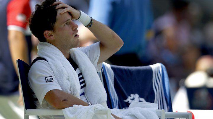 El tenista argentina