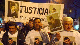 Una marcha en reclamo por el esclarecimiento de la muerte de David Campos y Emanuel Medina.