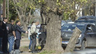 fiscal. Adrián Spelta llegó al lugar una hora después de ocurrido el hecho.