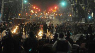 frente a frente. Tras la marcha a Plaza de Mayo