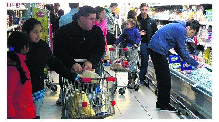 chango feroz. Los precios de los alimentos mueven la inflación.