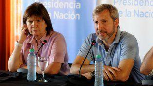 Los ministros Frigerio y Bullrich se reúnen con gobernadores patagónicos
