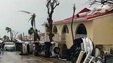 barbuda quedo incomunicada despues del devastador paso del huracan irma por el caribe
