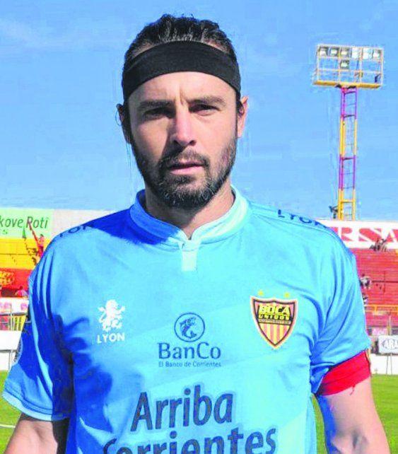 Chelo. Juan Marcelo Ojeda viene de jugar en Boca Unidos