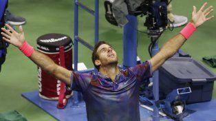 Fin de la batalla. Del Potro y otra hazaña ante uno de los mejores tenistas del mundo.