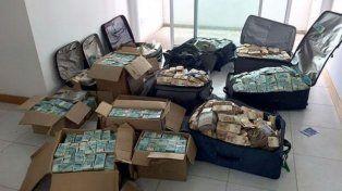 Había más de 16 millones de dólares en el búnker del ex ministro de Temer
