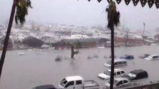 irma ya se cobro la vida de diez personas y ahora se aguarda la llegada de los huracanes jose y katia