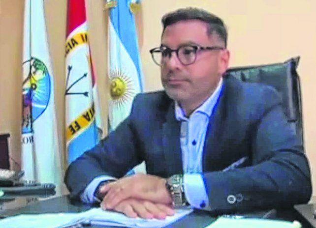 Iván Ludueña. El secretario de Gobierno de San Lorenzo denunció la maniobra ante la Justicia penal.