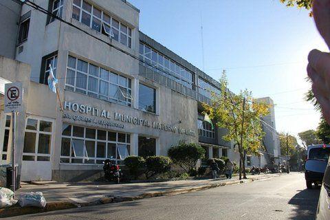 centro. El hospital materno-infantil donde fue llevada la criatura.