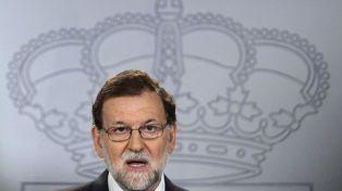 de punta. Rajoy recurrió al Constitucional y este suspendió el proceso secesionista. La tensión