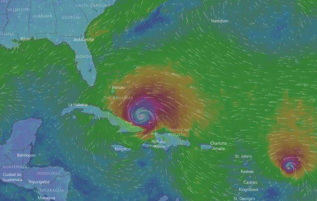 La trayectoria del devastador huracán Irma se puede seguir en vivo por la web