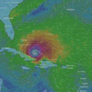 la trayectoria del devastador huracan irma se puede seguir en vivo por la web