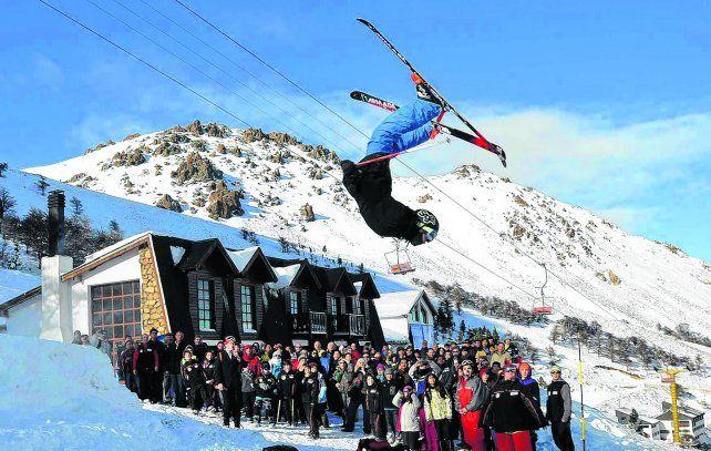 Para todos los gustos. El Centro de Montaña chubutense La Hoya cuenta con 30 pistas para practicar esquí y snowboard
