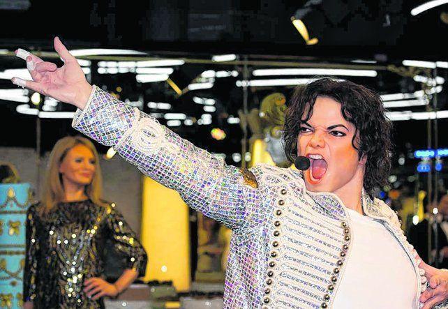 El Rey del Pop. La figura de Michel Jackson es una de las destacadas del Museo Grévin..