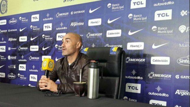 Montero dijo que para Central el partido ante San Lorenzo llega en un momento justo