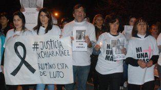 La mamá de Chiara dijo que el asesino sigue con la misma frialdad como cuando la mató
