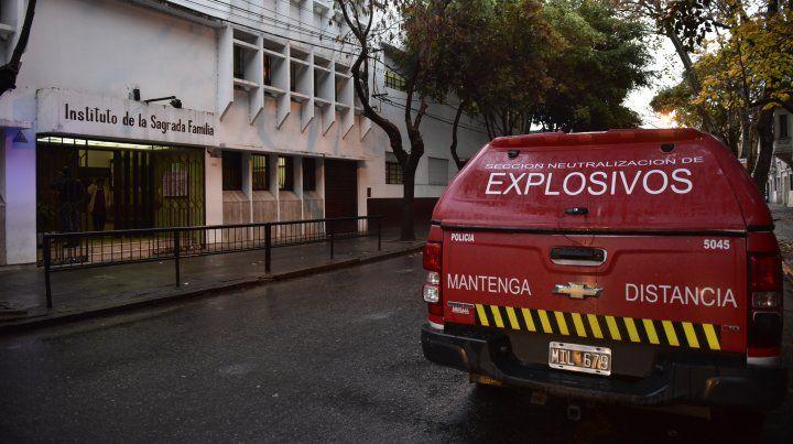 La ola de amenazas de bomba en las escuelas mantuvo en vilo a la ciudad.