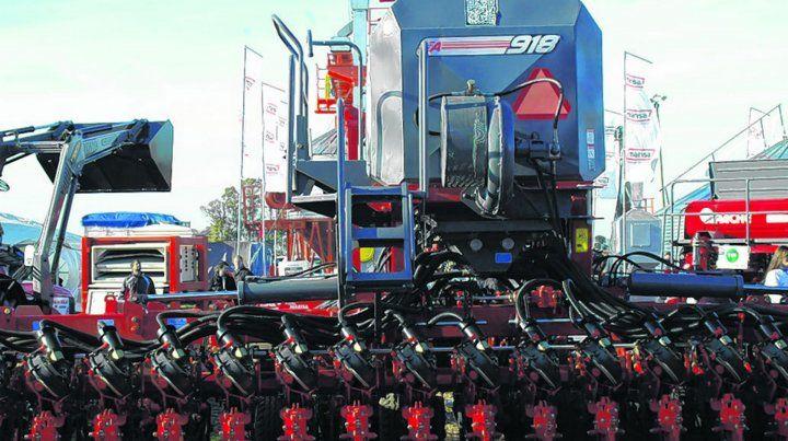 La provincia de Santa Fe se destaca por su presencia con sembradoras en los mercados externos.