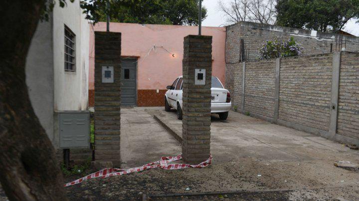 La vivienda que alquilaba César Damián Méndez