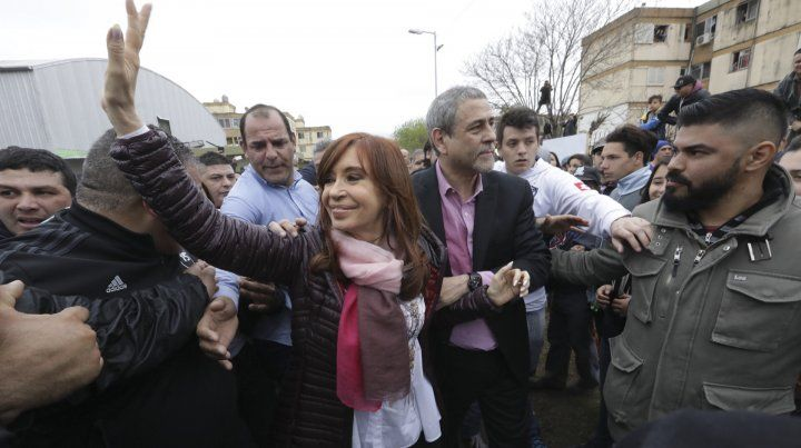 Cristina recorrió Villa Corina