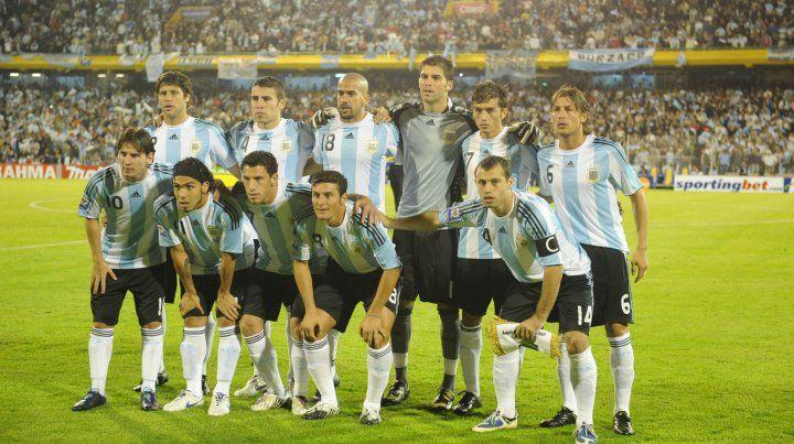El equipo del 2009. Argentina