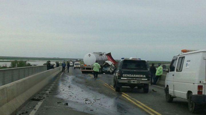Denuncian un incremento de accidentes en la conexión vial Rosario-Victoria