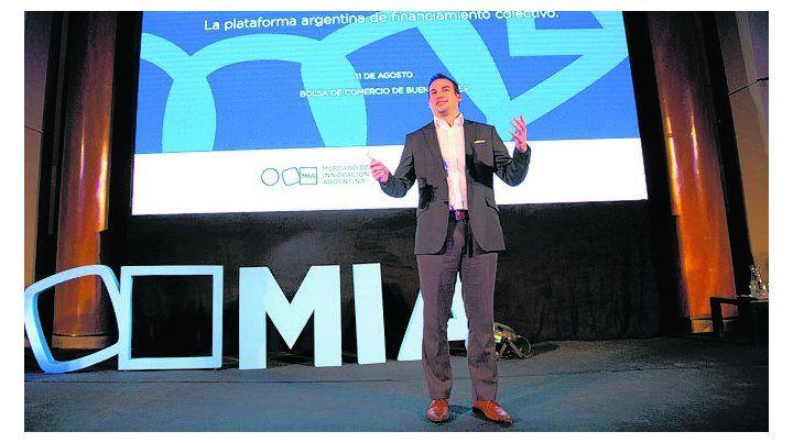 A escena. La nueva plataforma se presentó en Buenos Aires.