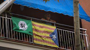 Grieta. La sociedad catalana se muestra dividida en dos sobre la consulta.