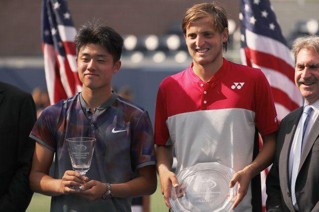 La gran promesa del tenis argentino quedó a un paso de la gloria en el US Open