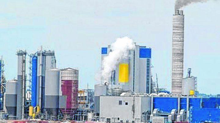 Primer conflicto. La construcción de UPM-Botnia en Fray Bentos detonó una áspera controversia.