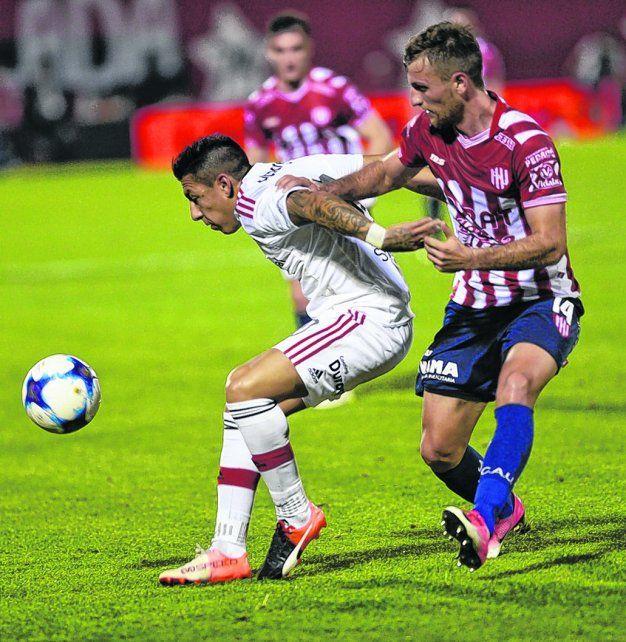 El generador leproso. Sarmiento se puso el equipo al hombro ante Unión y con Godoy Cruz.