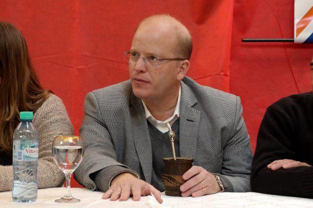 Contigiani quiere debatir con sus rivales de Cambiemos y del Frente Justicialista