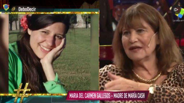 La madre de María Cash pidió que el presidente Macri la reciba