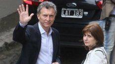 apuntados. La denuncia se centraba en Macri y Bullrich, entre otros.