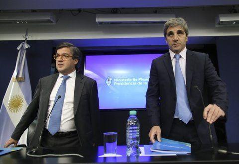 anuncio. Moreno y Caputo detallaron que impulsará la inversión privada.