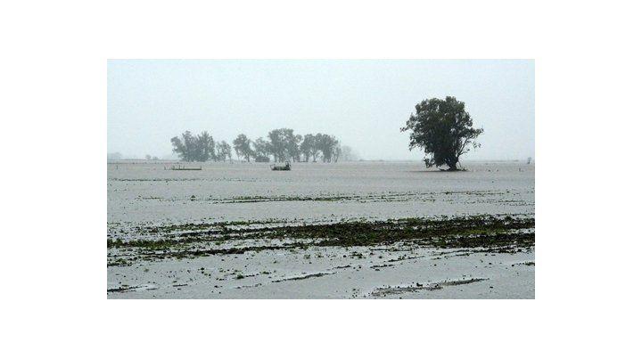 bajo agua. La provincia de Buenos Aires fue una de las más afectadas.