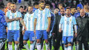 Los náufragos de la selección nacional