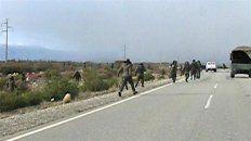 un gendarme confeso que hirio a un manifestante en el operativo en la ruta 40