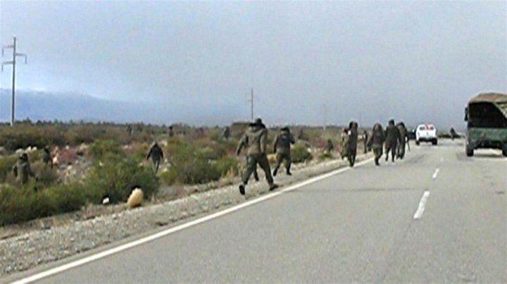 Un gendarme confesó que hirió a un manifestante en el operativo en la ruta 40