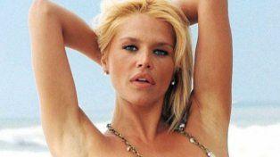 El topless madrugador de Nazarena Vélez que mostró todo con una musculosa transparente