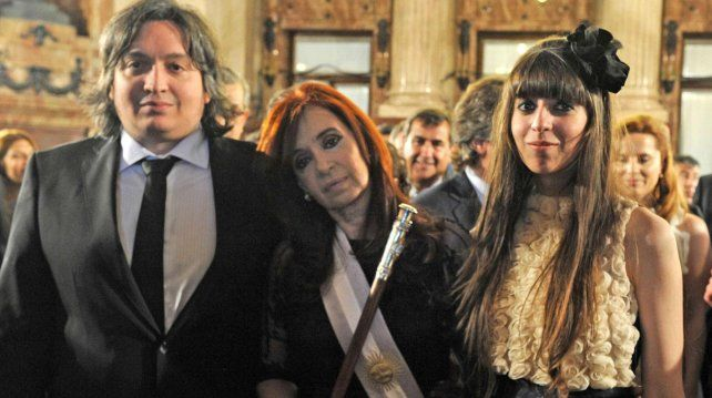 Maxímo está acusado penalmente en la causa Los Sauces por los presuntos delitos de lavado de dinero y asociación ilícita.
