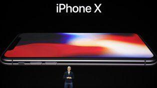 Con un gran lanzamiento, Apple presentó el iPhone X con reconocimiento facial