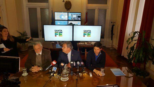 El ministro Pullaro junto a sus pares de Gobierno